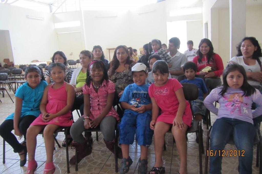 Immigrants in Casa Santa Ana